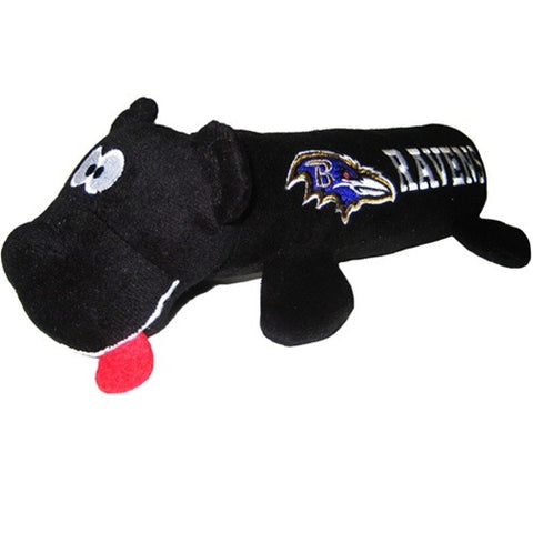 Baltimore Ravens Plush Tube Pet Toy