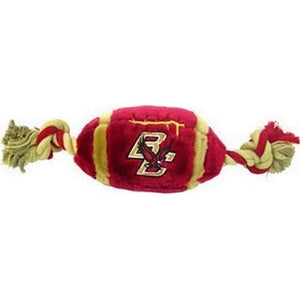 Boston College Eagles Plush Football Pet Toy