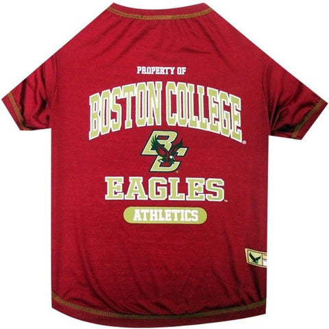 Boston College Eagles Pet T-Shirt