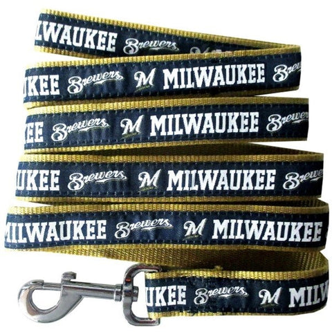 Milwaukee Brewers Pet Leash by Pets First