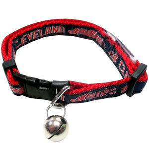 Cleveland Indians Breakaway Cat Collar