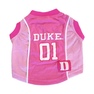 CLEARANCE Duke Blue Devils Pet Pink Jersey