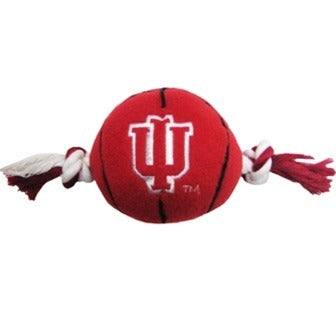 Indiana Hoosiers Basketball Pet Toy
