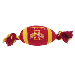 Iowa State Cyclones Plush Football Pet Toy
