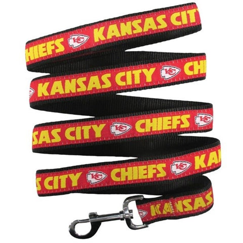Kansas City Chiefs Pet Leash by Pets First
