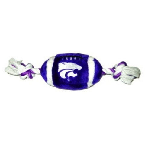 Kansas State Wildcats Plush Football Pet Toy