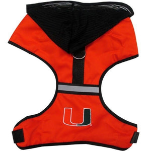 Miami Hurricanes Pet Hoodie Harness