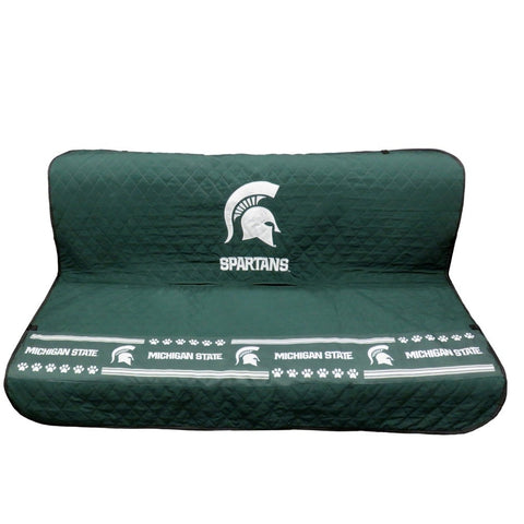 Michigan State Spartans Pet Car Seat Cover