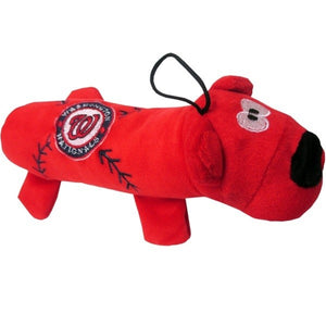 Washington Nationals Plush Tube Pet Toy
