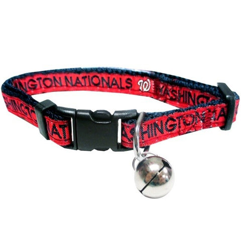 Washington Nationals Breakaway Cat Collar