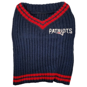 New England Patriots Pet Sweater
