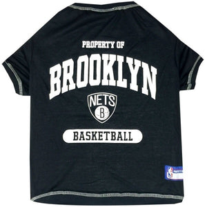 Brooklyn Nets Pet T-Shirt