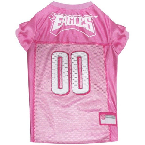 Philadelphia Eagles Pink Pet Jersey
