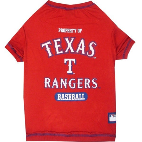 Texas Rangers Pet T-Shirt