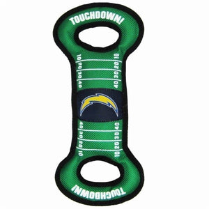 Los Angeles Chargers Field Pull Dog Toy