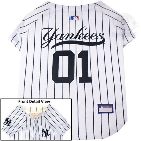 Image of New York Yankees Pet Jersey