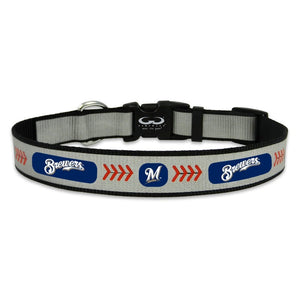 Milwaukee Brewers Pet Reflective Collar