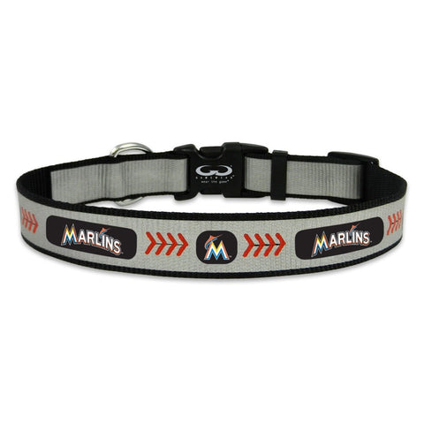 Miami Marlins Pet Reflective Collar
