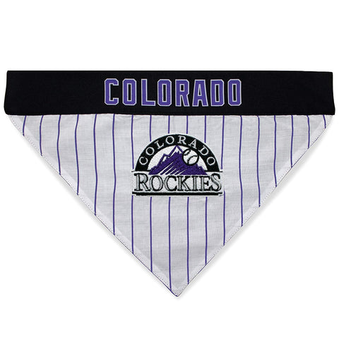 Colorado Rockies Pet Reversible Bandana
