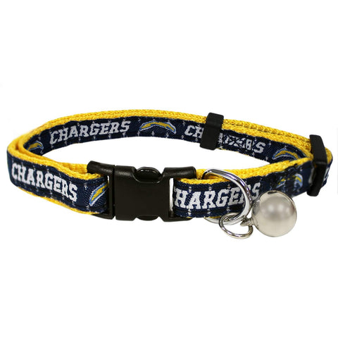 Los Angeles Chargers Breakaway Cat Collar
