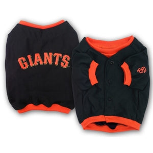 San Francisco Giants Alternate Style Pet Jersey