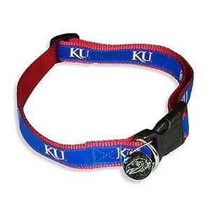 Kansas Jayhawks Alternate Style Dog Collar