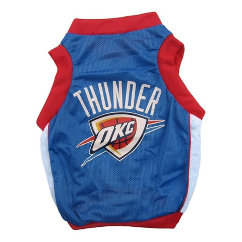 Oklahoma City Thunder Alternate Style Pet Jersey