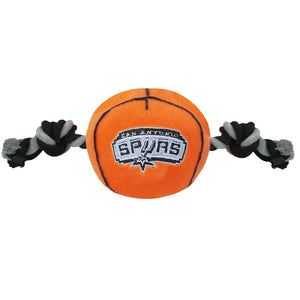 San Antonio Spurs Basketball Pet Toy