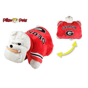 Georgia Bulldogs Pillow Pet