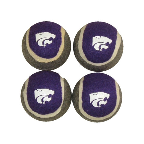 Kansas State Wildcats Tennis Ball 4-Pak