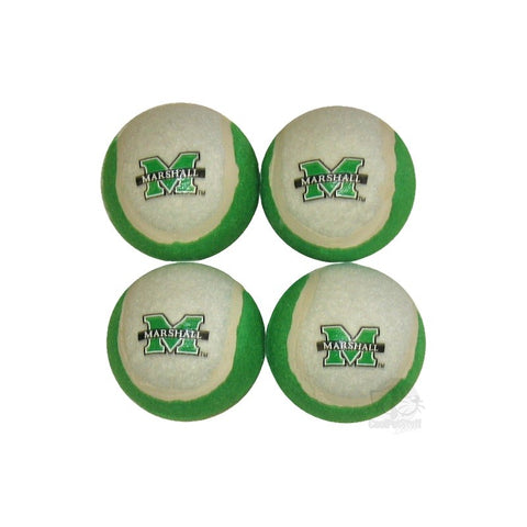 Marshall Thundering Herd Tennis Ball 4-Pak