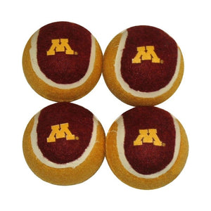 Minnesota Golden Gophers Tennis Ball 4-Pak