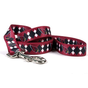 Arizona Cardinals Argyle Nylon Leash