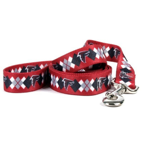 Atlanta Falcons Argyle Nylon Leash