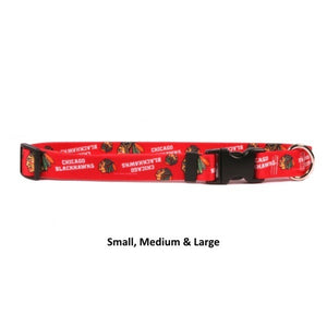 Chicago Blackhawks Nylon Collar