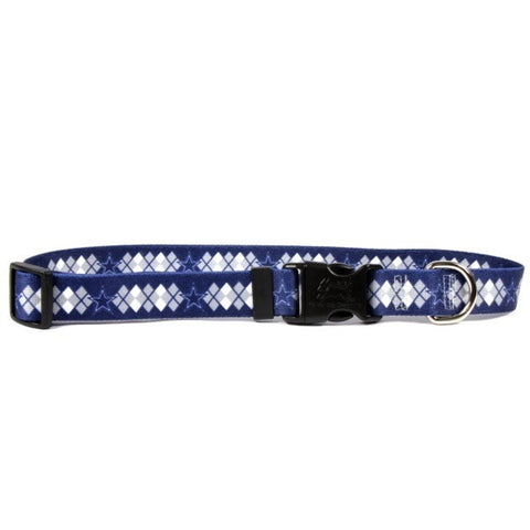 Dallas Cowboys Argyle Nylon Collar