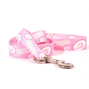 Green Bay Packers Pink Nylon Leash