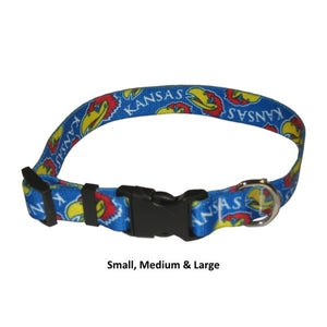 Kansas Jayhawks Nylon Collar