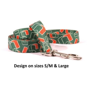 Miami Hurricanes Nylon Leash