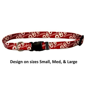 Oklahoma Sooners Nylon Collar