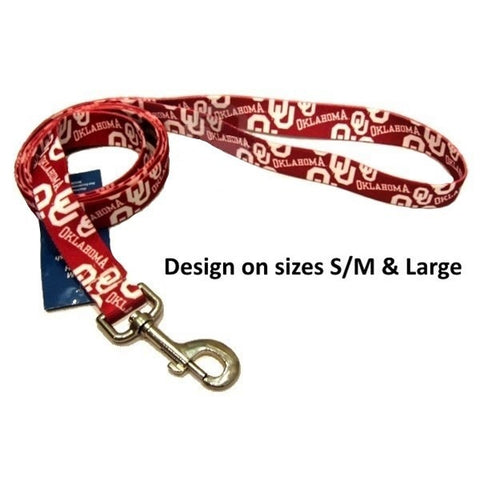 Oklahoma Sooners Nylon Leash