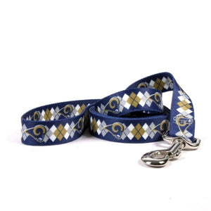 Los Angeles Rams Argyle Nylon Leash