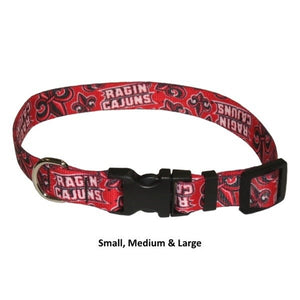 Louisiana Ragin' Cajuns Nylon Collar