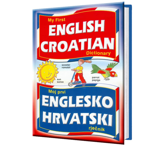 My first English-Croatian dictionary