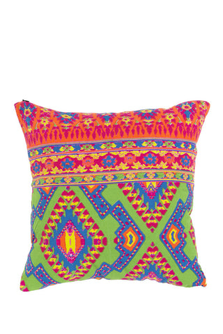 Tucan Rouge Cushion Carnival Lime