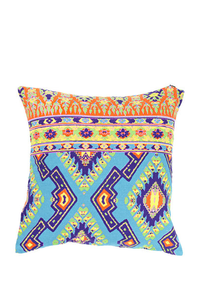 Tucan Rouge Cushion Tropical Blue