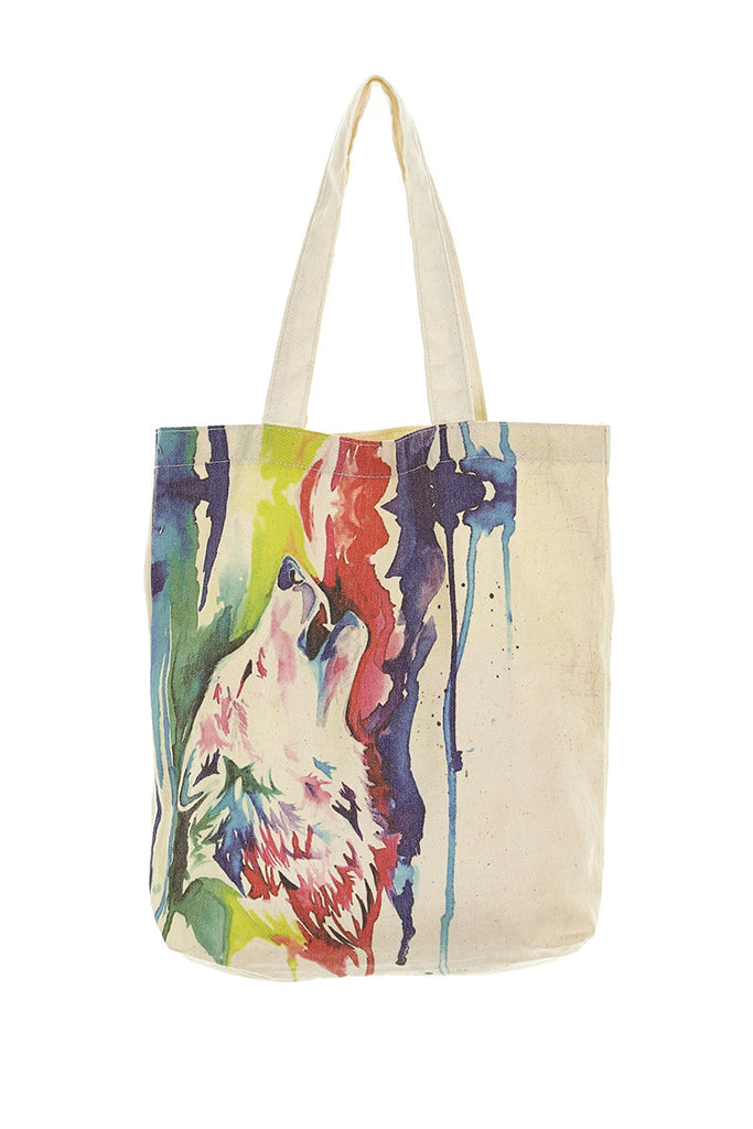 Howl to Colour Tote