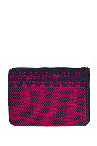 Dahlia Laptop Case Fuchsia