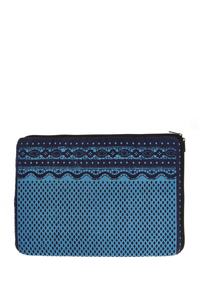 Dahlia Laptop Case Marine