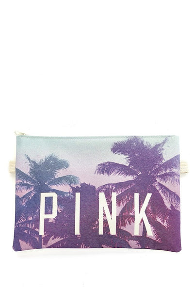 Pink Paradise Clutch